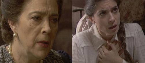 Il Segreto, spoiler fino al 5 ottobre: Francisca uccide Roberto, Elsa ha un malore