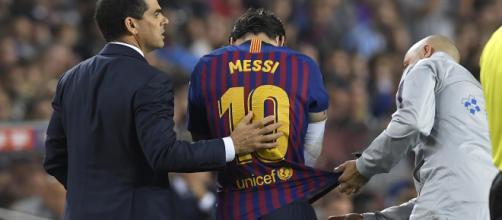Infortunio Messi, potrebbe non recuperare per il match di Champions League contro l'Inter