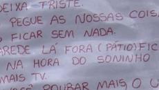 Alunos fazem apelo a ladrões que furtaram escola municipal em Curitiba
