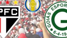 São Paulo x Goiás: transmissão ao vivo no PFC, nesta quarta (25), a partir das 21h30