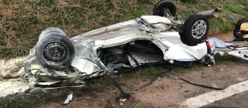 Acidente na rodovia rodovia Deputado Archimedes Lammoglia deixou ao menos quatro mortos. (Arquivo pessoal)