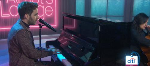 Ben Platt offers a loving parental tribute on 'Today' with his ballad, 'Run Away.' [Image source: TODAY/YouTube]