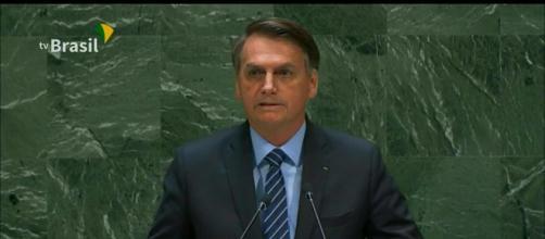 Bolsonaro discursa na ONU. (Arquivo Blasting News)