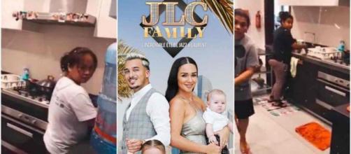 Jazz (JLC Family) filme ses nombreuses nounous et choque les internautes.
