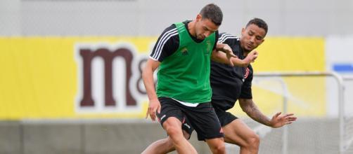 Mattia De Sciglio e Danilo Luiz (Twitter: @juventusfc)