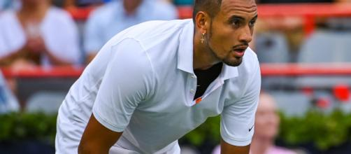 Nick Kyrgios meltdown includes smashing rackets during bathroom break - yahoo.com