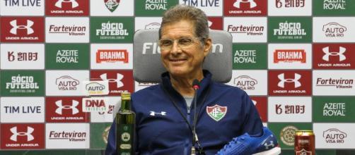 Oswaldo de Oliveira relaciona lateral-esquerdo Orinho para quinta. (Lucas Merçon/Fluminense FC)