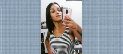 Andressa foi uma das vítimas. (Reprodução/TV Globo)