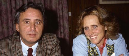 José Sámano y Mercedes Milá, cuando eran pareja sentimental. / DIEZ MINUTOS
