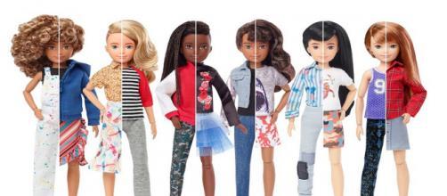 Linha de brinquedos sem gênero é divulgada. (Divulgação/ Mattel)