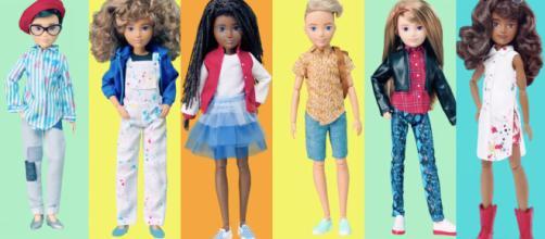 Mattel presenta 'Creatable World': bambole senza genere