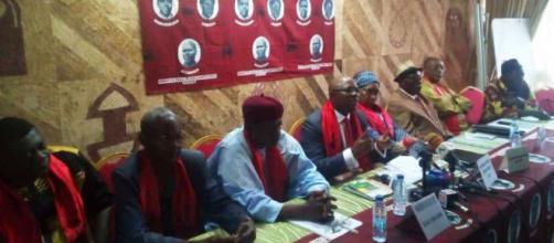 Rencontre de l'UPC du 24 septembre 2019 à l'hôtel des Députés de Yaoundé (c) Odile Pahai