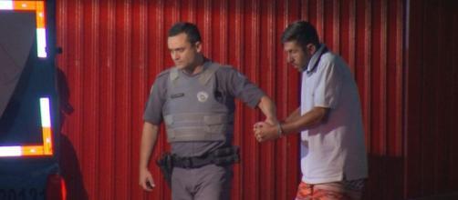 Rodrigo respondia por vários crimes. (Reprodução/TV Tem)