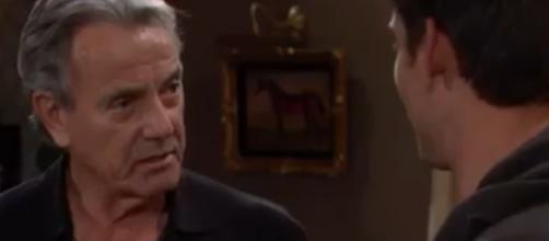 Adam faces Victor who is very much alive. [Image Source: The Young and the Restless-YouTube]