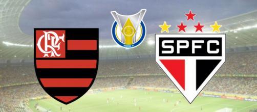 Flamengo x São Paulo: transmissão ao vivo exclusiva no Premiere. (Fotomontagem)