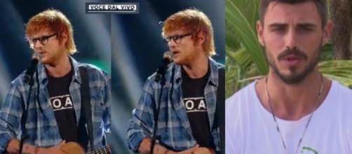 Francesco Monte manda in visibilio i suoi fan, imitando Ed Sheeran. Blasting News