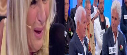 Gemma Galgani durante il Trono Over di Uomini e Donne piange per Jean Pierre. Ida Platano bacia Armando Incarnato