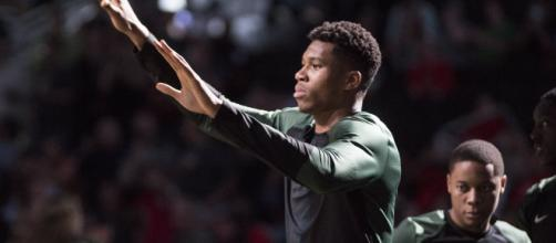 Giannis Antetokounmpo is predicated as the league's best player in 2019-20 by ESPN. [Image Source: Flickr | Dan Garcia]