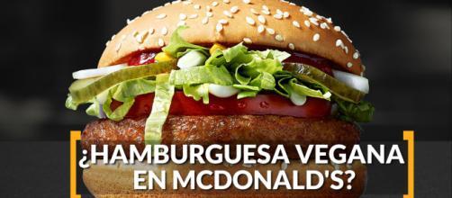 McDonald´s empieza pruebas con la hamburguesa sin carne