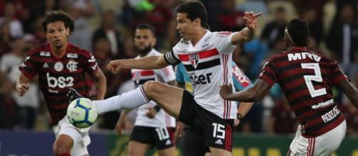 Flamengo e São Paulo abrem a 22ª rodada. (Reprodução/Instagram/@saopaulofc)
