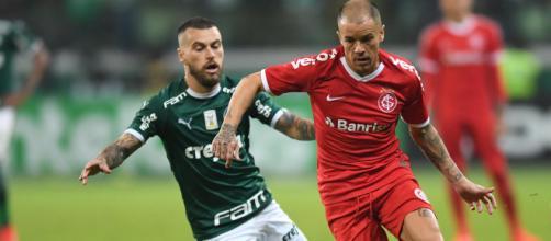 Inter busca sobrevivência no campeonato contra o Palmeiras. (Ricardo Duarte/SC Internacional)