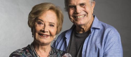 Tarcísio Meira está de volta aos palcos e sua mulher confirma que a aposentadoria do casal ainda está longe. (Arquivo Blasting News)