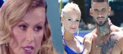 """Eva Henger attacca Lucas Peracchi a Domenica Live: """"Lui è violento con mia figlia"""""""