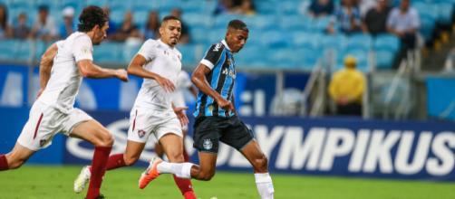 Flu tentará afastar a crise contra reservas do Grêmio. (Lucas Uebel/Grêmio)