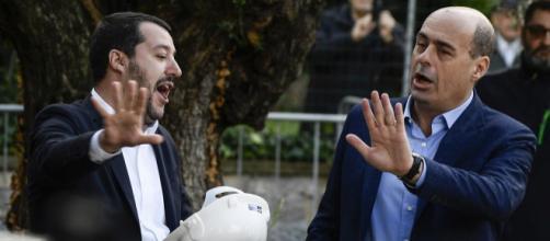 Legge di bilancio, Nicola Zingaretti accusa Matteo Salvini
