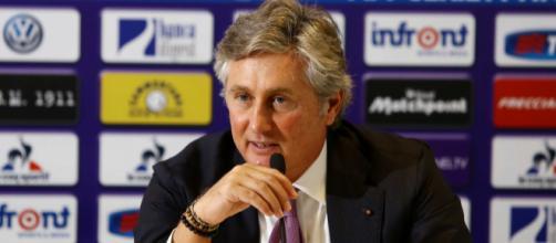 Pradè, responsabile del mercato della Fiorentina