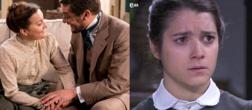 Una Vita, spoiler: Higinio e Maria vogliono derubare Casilda dell'eredità di Maximiliano