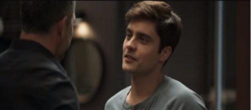 Agno fará convite a Leandro. (Reprodução/TV Globo)