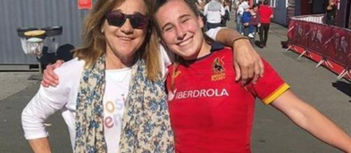 Blanca Fernández Ochoa y Olivia Frasneda