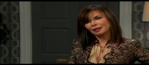 On Days of Our Lives, Kate Roberts' (Lauren Koslow) life is in danger. [Image source - DOOL Twitter verified account]