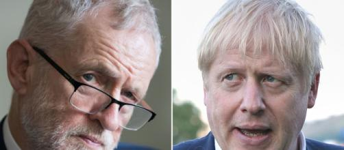 Jeremy Corbyn avversario di Boris Johnson