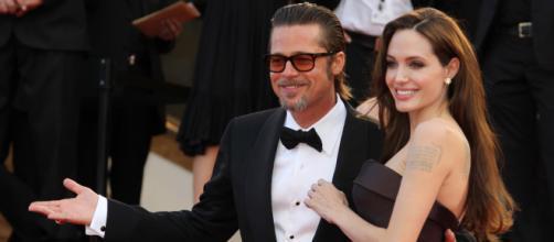 O casal queridinho de Hollywood Angelina Jolie e Brad Pitty deixou muita gente chocado com a separação (Arquivo Blasting News)