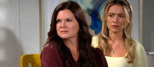 Anticipazioni Beautiful, puntate americane: Flo propone di donare il rene a Katie
