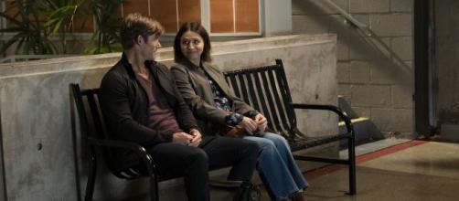 Atticus Link e Amelia Shepher - Grey's Anatomy 16x02