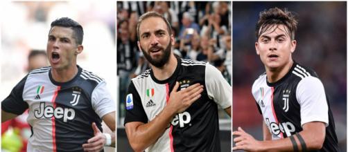 Juve, con il Bayer Sarri potrebbe affidarsi al tridente da 1000 gol Ronaldo-Dybala-Higuain