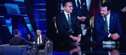Di Maio ospite di Non è l'Arena parla di Salvini