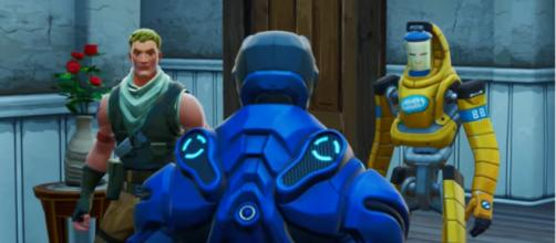 Fortnite players are now matched to opponents that are on a different platform. [Image source: NewScapePro - Fortnite Shorts, Films and Skits]