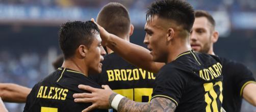 Inter, Sanchez si scusa con i compagni per l'espulsione contro la Sampdoria