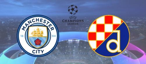 Manchester City x Dinamo Zagreb terá transmissão ao vivo na TV e na internet. (Fotomontagem)