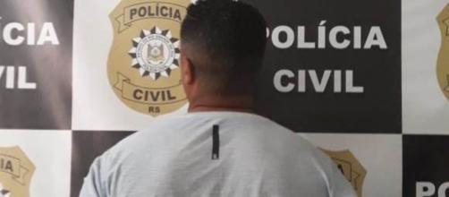 O homem foi preso pela Polícia Civil. (Divulgação/Polícia Civil)