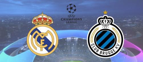 Real Madrid x Brugge: transmissão ao vivo no Facebook. (Fotomontagem)