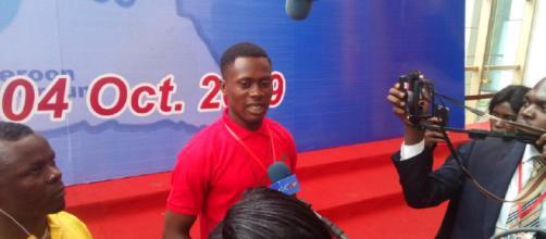 Un ex-combattant lors du Grand Dialogue National au Palais des Congrès de Yaoundé (c) Odile Pahai