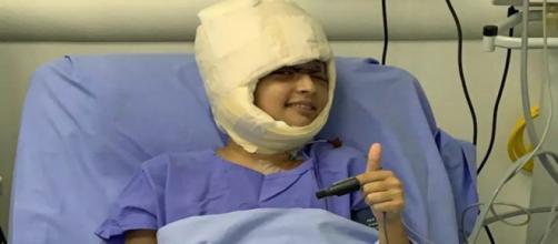 A jovem não está mais na Unidade de Terapia Intensiva (Divulgação/Hospital Especializado)