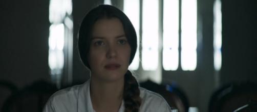 A vilã Fabiana, de 'A Dona do Pedaço' (Reprodução/TV Globo)