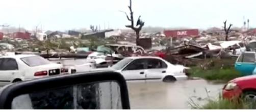 Hurricane Dorian leaves trail of destruction in Bahamas. [Image source/Global News YouTube video]