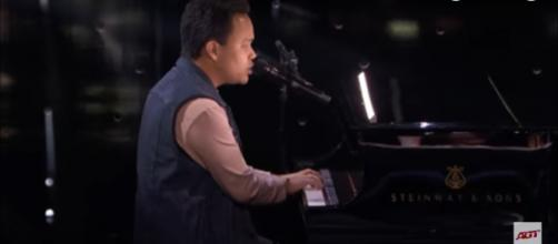 Kodi Lee gives one of the moving 'America's Got Talent' performances that lifts the mood in the semifinals. [Image source: AGT-YouTube]